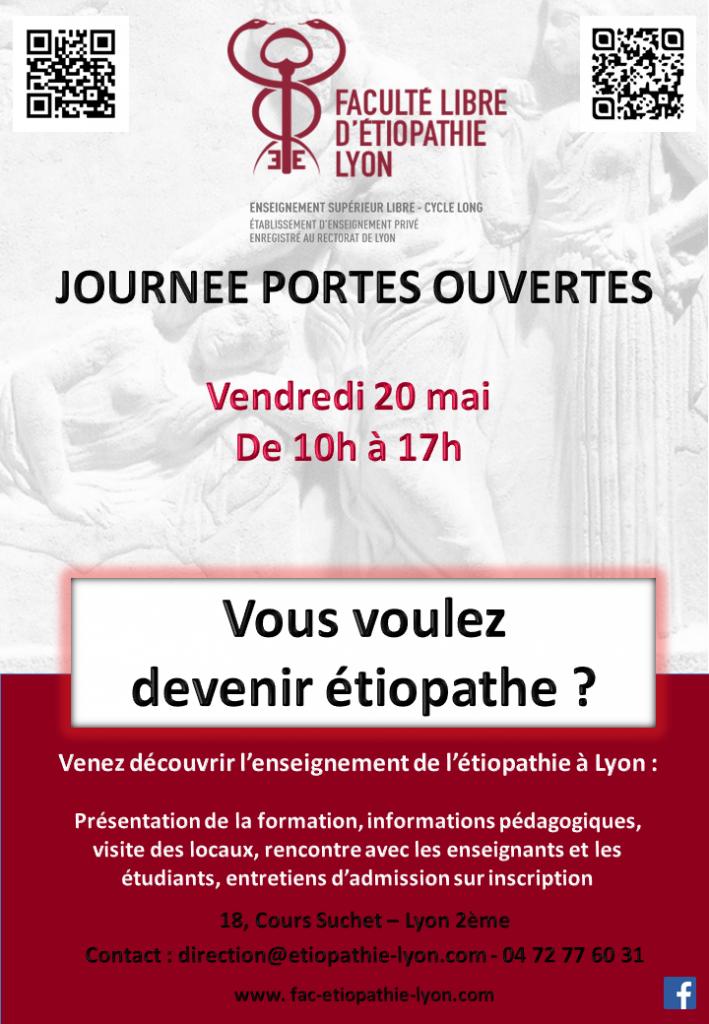 JPO Lyon Faculté etiopathie etiopathe valence ughetto ciaviu blache drome
