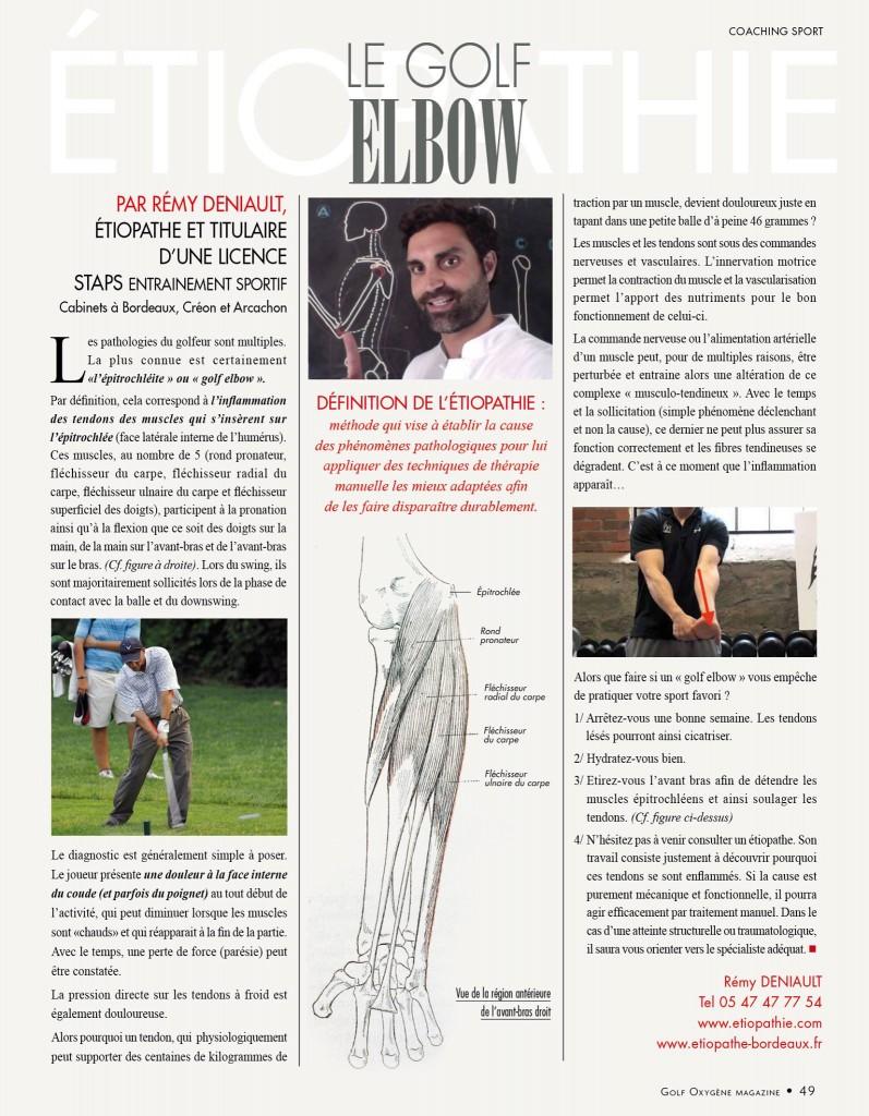 etiopathe golf sport etiopathie valence blache jean come ughetto ciaviu romain remy deniault bordeau